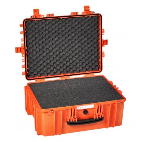 5325 O EXPLORER CASES ARANCIONE | CON SPUGNA Valigia a tenuta stagna in polipropilene copolimero