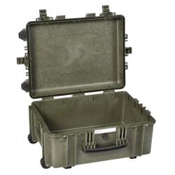 5326 GE EXPLORER CASES VERDE MILITARE | VUOTA Valigia a tenuta stagna in polipropilene copolimero