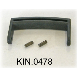 KIN.0478 EXPLORER CASES NERO Maniglia per modelli da 1908 fino a 2214