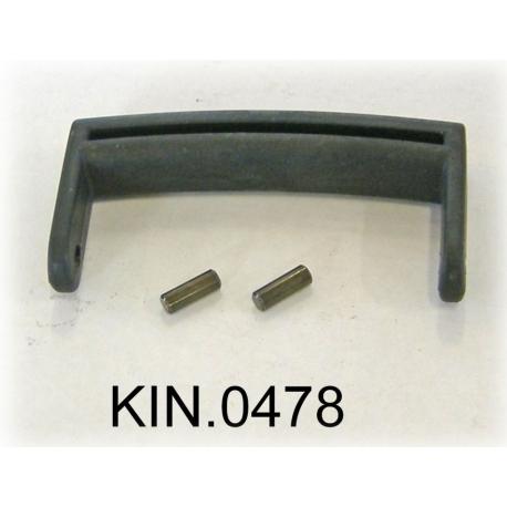 KIN.0478 EXPLORER CASES NERO Maniglia (mod. 1908 fino a 2214)