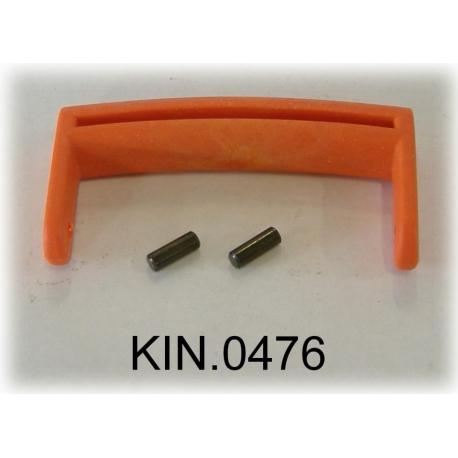 KIN.0476 EXPLORER CASES ARANCIO Maniglia per modelli da 1908 a 2214