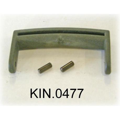 KIN.0477 EXPLORER CASES VERDE MILITARE Maniglia per modelli da 1908 a 2214