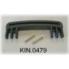 KIN.0479 EXPLORER CASES NERO Maniglia riv. in gomma per modelli 3818-4412-4419-5117-5122