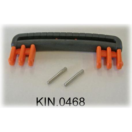KIN.0468 EXPLORER CASES ARANCIONE Maniglia riv. in gomma per modelli 3818-4412-4419-5117-5122