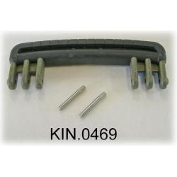 KIN.0469 EXPLORER CASES VERDE MILITARE Maniglia riv. in gomma per modelli 3818-4412-4419-5117-5122