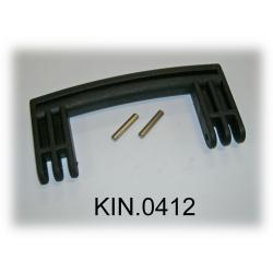 KIN.0412 EXPLORER CASES NERO Maniglia laterale per modelli 5140 - 5325/26 - 5822/23/33 - 7630 - 13513/27 - 10840