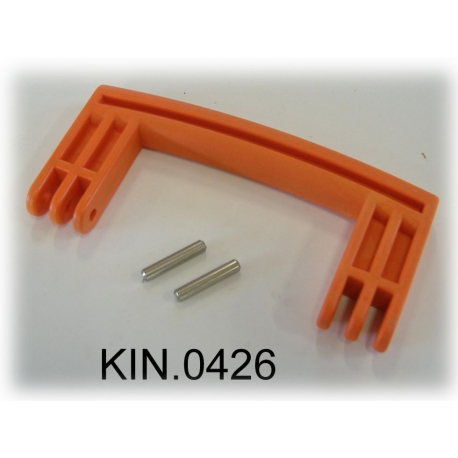 KIN.0426 EXPLORER CASES ARANCIONE Maniglia laterale per modelli 5140 - 5325/26 - 5822/23/33 - 7630 - 13513/27 - 10840
