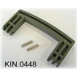 KIN.0448 EXPLORER CASES VERDE MILITARE Maniglia laterale per modelli 5140 - 5325/26 - 5822/23/33 - 7630 - 13513/27 - 10840