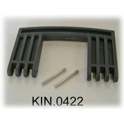 KIN.0422 EXPLORER CASES NERO Maniglia laterale per modello 7641
