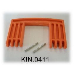 KIN.0411 EXPLORER CASES ARANCIONE Maniglia laterale per modello 7641