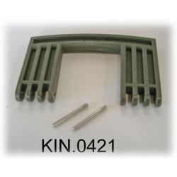 KIN.0421 EXPLORER CASES VERDE MILITARE Maniglia laterale per modello 7641
