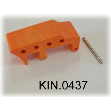 KIN.0437 EXPLORER CASES ARANCIONE Serratura per modelli da 2712 a 3317
