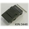 KIN.0446 EXPLORER CASES NERO Serratura a doppia leva per modelli da 3818 in su
