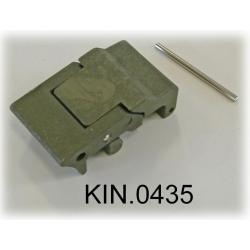 KIN.0435 EXPLORER CASES VERDE MILITARE Serratura a doppia leva per modelli da 3818 in su
