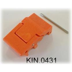 KIN.0431 EXPLORER CASES ARANCIONE Serratura laterale a doppia leva per modelli 7630, 7641 e 10840