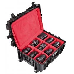5326 BPHB EXPLORER CASES Valigia con borsa imbottita con divisori interni regolabili