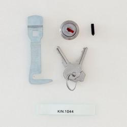 KIN.1044 GT LINE SPARE SERRATURE, 2 CHIAVI E GANCETTI PER MODELLI AL1.KT01 - AL1.KT02