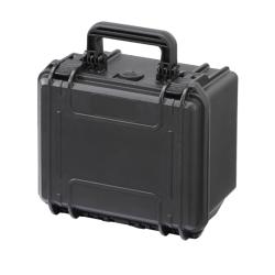 MAX235H155.079 Plastica Panaro MAX CASES VALIGIA ERMETICA NERA