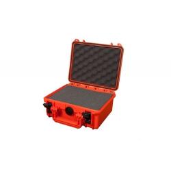 MAX235H105S.001 Plastica Panaro MAX CASES VALIGIA ERMETICA ARANCIONE CON SPUGNA