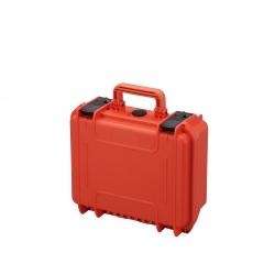 MAX300S.001 Plastica Panaro MAX CASES VALIGIA ERMETICA ARANCIONE CON SPUGNA CUBETTATA