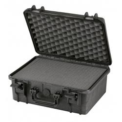 MAX380H160.079 Plastica Panaro MAX CASES VALIGIA ERMETICA NERA