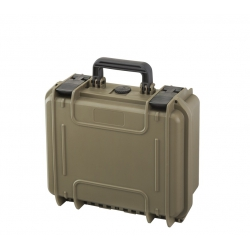 MAX300S.488 Plastica Panaro MAX CASES VALIGIA ERMETICA SAHARA CON SPUGNA CUBETTATA