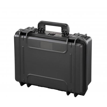 MAX430.079 Plastica Panaro MAX CASES VALIGIA ERMETICA NERA