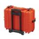 MAX505CAMTR.001 Plastica Panaro MAX CASES VALIGIA ERMETICA ARANCIONE INTERNO CON DIVISORIE IMBOTTITE E TROLLEY