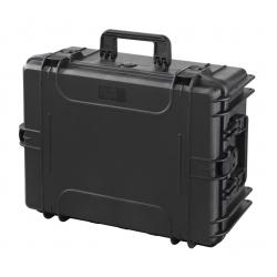 MAX540H245.079 Plastica Panaro MAX CASES VALIGIA ERMETICA NERA