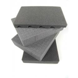 SPUMAX004 MAX CASES Plastica Panaro Kit standard spugne interne per MAX001 grigio