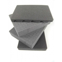 CUBMAX002 MAX CASES Plastica Panaro Spugna cubettata per MAX002 grigio