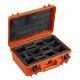 MAX430CAMORG.001 Plastica Panaro MAX CASES VALIGIA ERMETICA ARANCIONE INTERNO CON DIVISORIE IMBOTTITE + ORGANIZER PER COPERCHIO