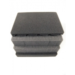 SPUMAX620H340 MAX CASES Plastica Panaro Kit standard spugne interne per art. MAX620H340 grigio