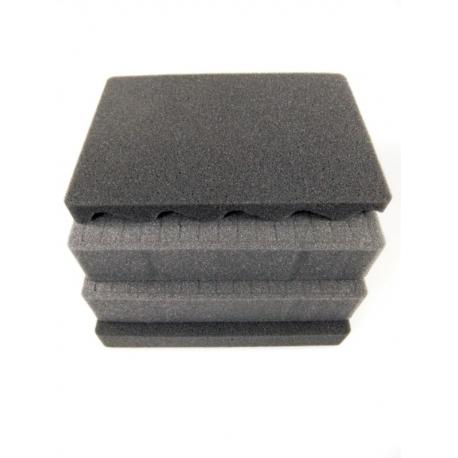 SPUMAX505H280 MAX CASES Plastica Panaro Kit standard spugne interne per art. MAX505H280 grigio