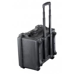 TROLLEY465H220.079 Plastica Panaro MAX CASES VALIGIA ERMETICA NERA MANICO ESTENSIBILE PER MAX465H220