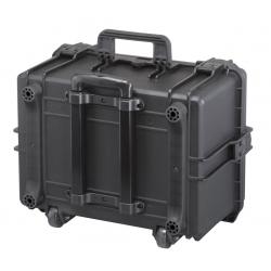 TROLLEY 505H280.079 Plastica Panaro MAX CASES VALIGIA ERMETICA NERA MANICO ESTENSIBILE PER MAX505H280