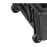 KIT RUOTE MAX750 MAX CASES Plastica Panaro Il kit comprende nr. 4 ruote, nr. 2 perni, nr. 4 bulloni nero