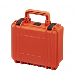 MAX235H105MAVICPRO.001 Plastica Panaro MAX CASES VALIGIA STAGNA CON INSERTO PERSONALIZZATO PER DJI MAVIC PRO (VALIGIA ARANCIONE)