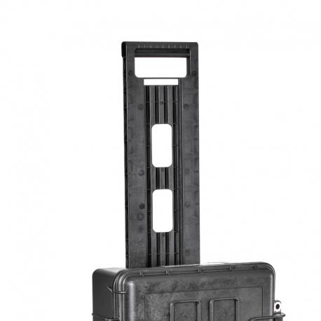 KIN.1202 EXPLORER CASES Maniglia nera estraibile (mod.5218-5221)
