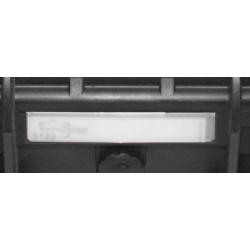 KIN.1213 EXPLORER CASES Targhetta porta nome per modelli 5218 - 5221