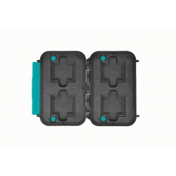 HPRC1300 MEMBLB HPRC VALIGIA IN RESINA MEMORY CARD HOLDER NERA