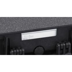 KIN.0969 EXPLORER CASES Targhetta porta nome in policarbonato (dal modello 3818 a salire)