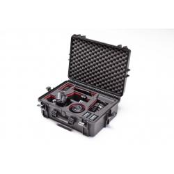 MAX505FS5 PLASTICA PANARO MAX CASES VALIGIA ERMETICA NERA CON TROLLEY