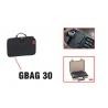 GBAG 30 EXPLORER CASES NERA Borsa imbottita porta fucile per valigia 3005