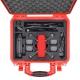 SPK2300RED-01 RED HPRC VALIGIA HPRC2300 PER DJI SPARK FLY MORE COMBO ROSSA