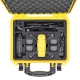 SPK2300YEL-01 YEL HPRC VALIGIA HPRC2300 PER DJI SPARK FLY MORE COMBO