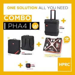 PHA4-2700WCOM-01 HPRC COMBO - HPRC2700W + SOFT BAG DJI 4 / 4 PRO / 4 PRO+ (INTERCHANGEABLE FOAM)