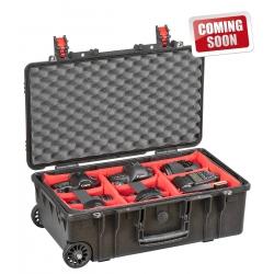 5218 BPH EXPLORER CASES Valigia nera a tenuta stagna con divisori imbottiti (per corpo fotocamera e lenti)