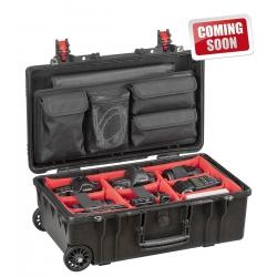 5221 BPH EXPLORER CASES Valigia nera a tenuta stagna con divisori imbottiti (per corpo fotocamera e lenti)