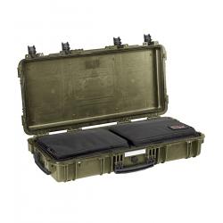 7814 GGB EXPLORER CASES VERDE MILITARE CON BORSA GBAG 76 Valigia a tenuta stagna in polipropilene copolimero